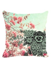 Blossoms Floral Cushion Cover - Leaf Designs