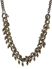 Intertwined Heavy Chain Necklace - Bling Accessories