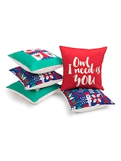 Multicolor Cotton Cushion Cover - By