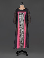Round Neck Animal Print Kurta - Just Wow