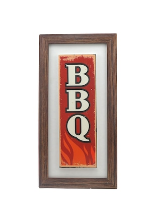 BBQCeramic tile wall frame