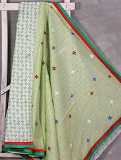 Half & Half Cotton-Kota Printed Saree - Gullita