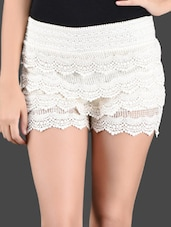 Crosia Lacy Shorts - Miss Chase