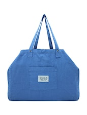blue canvas handbag -  online shopping for handbags
