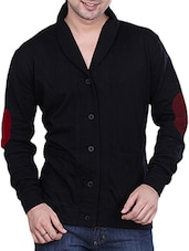 black fleece casual jacket -  online shopping for Casual Jacket
