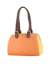 Leatherette Multicolor Hand Bag - By