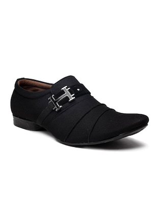 black slip on shoe