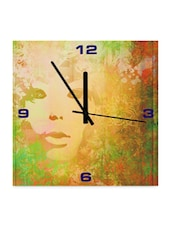 Face On The Wall Clock - Height Of Deisgns