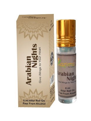 Arabian Night Apparel Concentrated Attar Perfume (8ml Rollon free From Alcohol) -  online shopping for perfumes