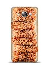 Noodle Cubes Samsung Galaxy E5 Phone Case  available at Limeroad for Rs.799