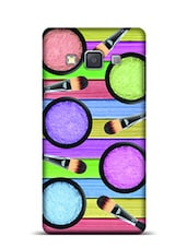 Eyeshadows And Brushes Samsung Galaxy A3 Phone Case  available at Limeroad for Rs.799