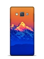 Himalayan Mountains View From Mt Shivapuri Samsung Galaxy A3 Phone Case  available at Limeroad for Rs.799