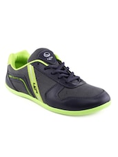 blue lace up sport shoe  available at Limeroad for Rs.499