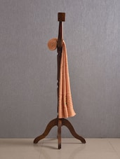 Brown Pure Cotton Bath Towel - Firangi
