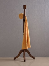 Yellow Pure Cotton Bath Towel - Firangi