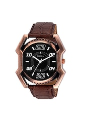 TIMER Analog Black Dial Men's Watch - TC6062 -  online shopping for Analog Watches