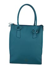 Dual Pocket Plain Solid Handbag - Baggit
