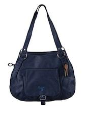 Plain Solid Leatherette Handbag - Baggit