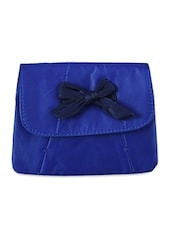 Bow Detail Leatherette Sling Bag - Baggit