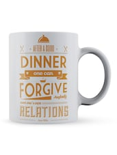 """After A...Relations"" Quote Ceramic Mug - Lab No. 4 - The Quotography Department"