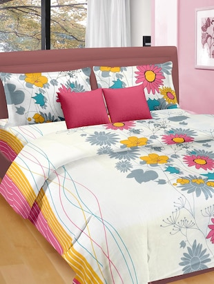 Premium Satin Double Bed Sheet -  online shopping for bed sheet sets