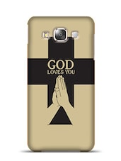 God Loves You Samsung Galaxy E5  available at Limeroad for Rs.799