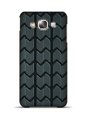 Tyre Track Zig Zag Samsung Galaxy E5  available at Limeroad for Rs.799