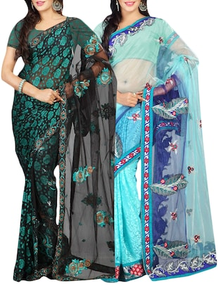 multi colored saree -  online shopping for Sarees