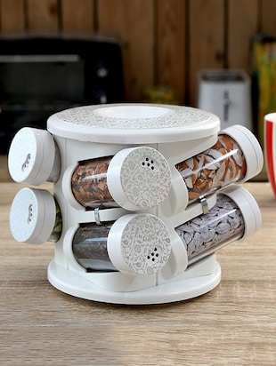 Printed Spice Tower Set of Eight -  online shopping for Spice Racks