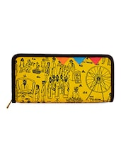 Fair Printed Yellow Wallet - FUNK FOR HIRE