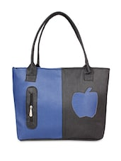 Black Leatherette Handbag - Jimmy Octan