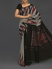 Printed Pure Cotton Katki Saree - Komal Sarees