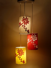 Multicoloured Singing Birds Hanging Lamp - Craftter