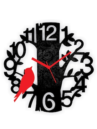 black wood analouge wall clock -  online shopping for Wall Clocks