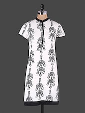 Monochrome Block Printed Kurta - JUNIPER Fruit Of Fashion