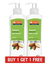 VLCC Almond Body Lotion 200ml ( Buy 1 Get 1 Free) - By
