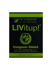 Dr. Vaidya's - Livitup! - Hangover Shield And Liver Protector - PARTY PACK ( Pack Of 10 ) - By
