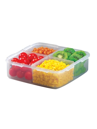 Lock&Lock Classics Food Container, 1.6 Litres With Divider