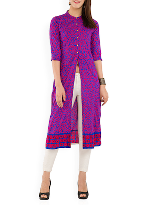 multi cotton kurta