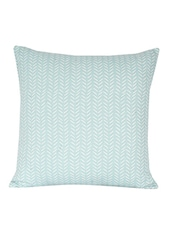 Sanaa Fish Bone Design Panel Printed Cushion Cover - By