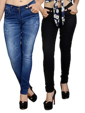 multi colored denim jeans combo -  online shopping for Jeans