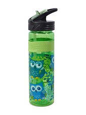 Green And Blue Single Walled Water Bottle - By