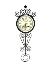 White Dial Vintage Wall Clock - Classico