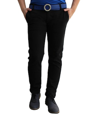 black denim slim fit jean