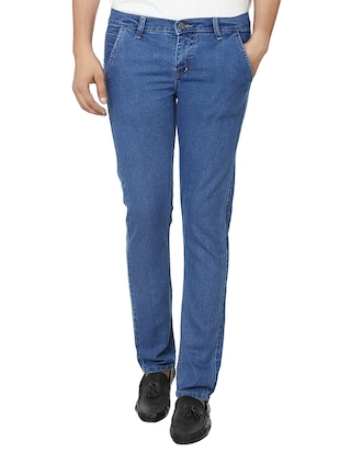light blue denim slim fit j jean -  online shopping for Jeans