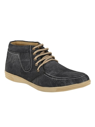 blue denim casual shoe
