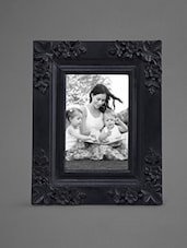 Black Matte Finish Wooden Photo Frame - Indian Reverie