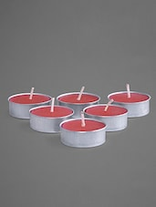 Rose Scented Tea Lights Set - Indian Reverie