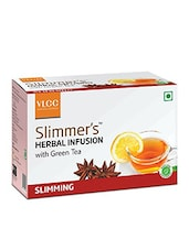 VLCC Slimmers Herbal Infusion with Green Tea - SLIMMING 50's -  online shopping for body treatment
