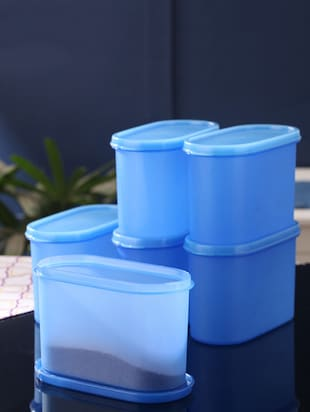 blue plastic container set -  online shopping for Containers